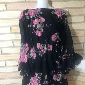 Dresses & Skirts - Bell Sleeve Mini Dress